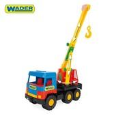 """Машина """"Кран """"Middle truck"""", в пак. 35*16см, ТМ Wader 39226"""