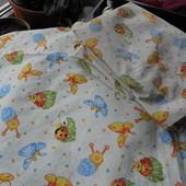 комплект постельного белья в детскую кроватку (1 на выбор)