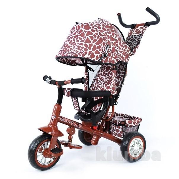 Велосипед трехколесный zoo-trike 0005 brown фото №1