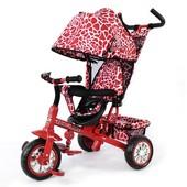 Велосипед трехколесный Zoo-Trike 0005 Red