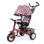 Велосипед трехколесный Zoo-Trike 0005 Brown