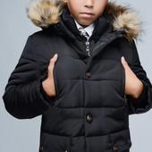 Зимняя куртка для мальчика, удлиненная, парка, пальто