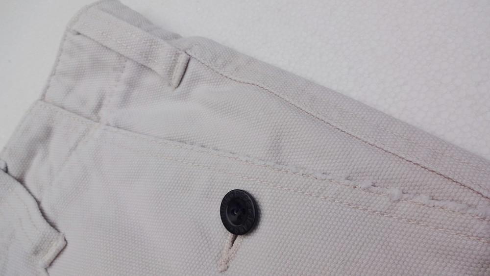Pepe jeans. джинсовые белые шорты из англии. ххl. толстенькие и качественные! фото №5