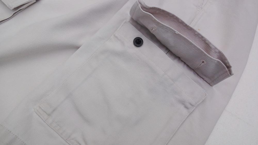 Pepe jeans. джинсовые белые шорты из англии. ххl. толстенькие и качественные! фото №7