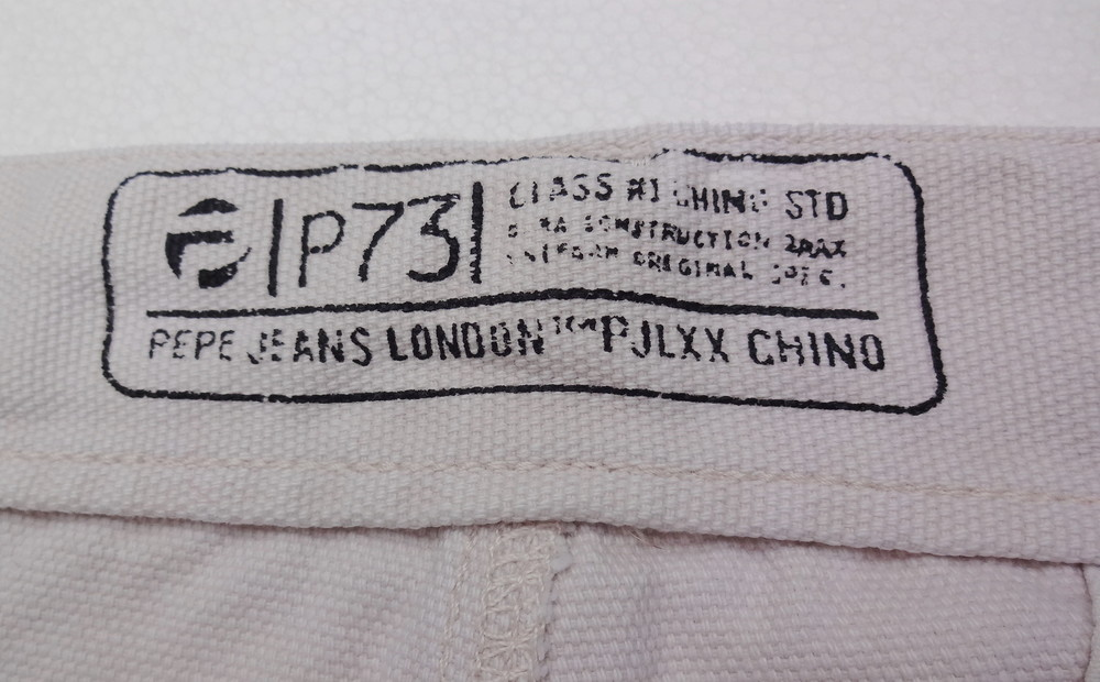 Pepe jeans. джинсовые белые шорты из англии. ххl. толстенькие и качественные! фото №11