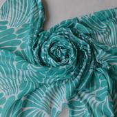 Большой легкий мятный шарф, палантин