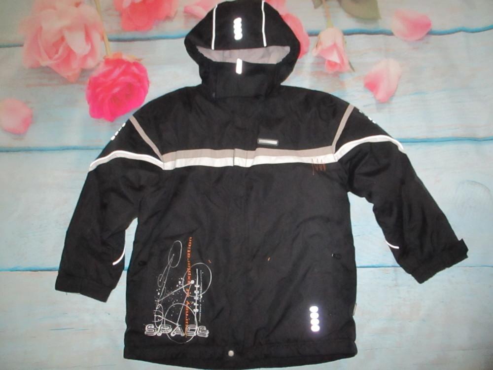 Зимняя мембранная термо куртка reima,  128р+6 . фото №1