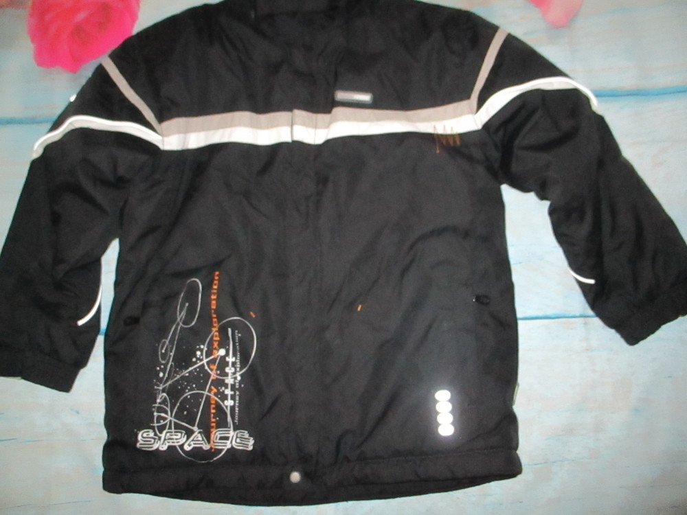 Зимняя мембранная термо куртка reima,  128р+6 . фото №4