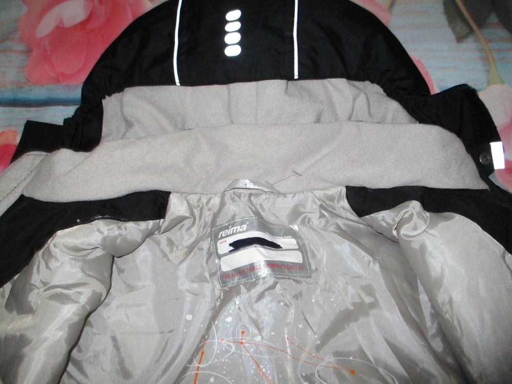 Зимняя мембранная термо куртка reima,  128р+6 . фото №7