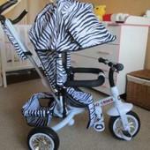 Детский трехколесный велосипед Tilly zoo-trike белый вт-ст-0005 White