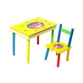 Детский Стол + стул 2803-705(W02-593) Мишка с ящиком
