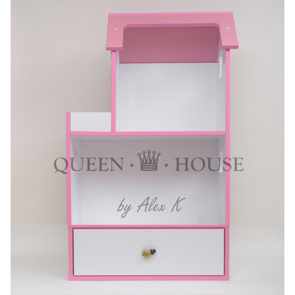 Двухэтажный домик для барби с выдвижным ящиком фото №1