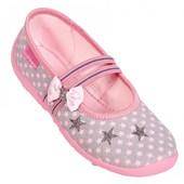 Текстильная обувь ViGGaMi  для девочек 26-36 размер