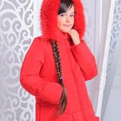 """Яркая зимняя куртка """"Барбара"""" в расцветках. Размеры: 32~40 (4"""