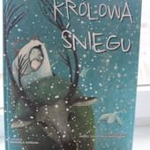 Новая Книга Снежная королева на польском языке.
