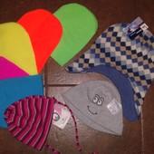 Новые_яркие_двойные!!! На любой вкус и цвет)) В аукционе участвуют двойные шапки ф. 2-4 (1 на выбор)