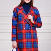 Женское пальто в стиле 60х