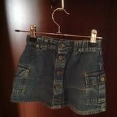Джинсовая юбка H&M рост 98- 104
