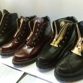 Ботинки кожа замша Возможны разные цвета !