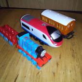 Поезд Паровоз Mega Bloks Томас