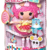 Кукла Lalaloopsy Печенюшка-сладкоежка  Super Silly party large doll (Оригинал )