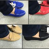 Туфли мягкий ход 3 цвета. Черных нету. Кожаная стелька.
