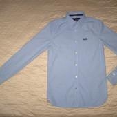 Рубашка Super Dry оригинал разм.S ( сост.новой)