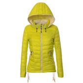 Скидки!! Женская куртка, пуховик, весна-осень, демисезонная короткая, цвета