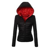 Скидки!!! Женская куртка, пуховик, весна-осень, горох, демисезонная короткая, цвета