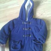 Стильное демисезонное пальто на мальчика. Не дорого