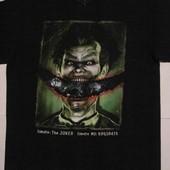 Новая мужская черная футболка хлопок 100% с принтом Джокер Бэтмен Batman оригинал
