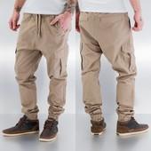 Стильные брюки Джогеры с карманами карго
