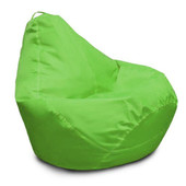 Салатовое кресло-груша 120х90 см из ткани Оксфорд