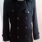 Шерстяне пальто М-ка