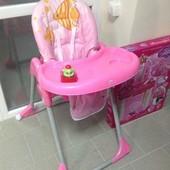 Стульчик детский для кормления с игрушкой