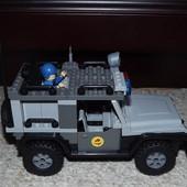 Джип конструктор 19*9*15/11 см Joy Toy