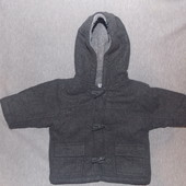 Красивое пальто на мальчика 3-6 месяцев