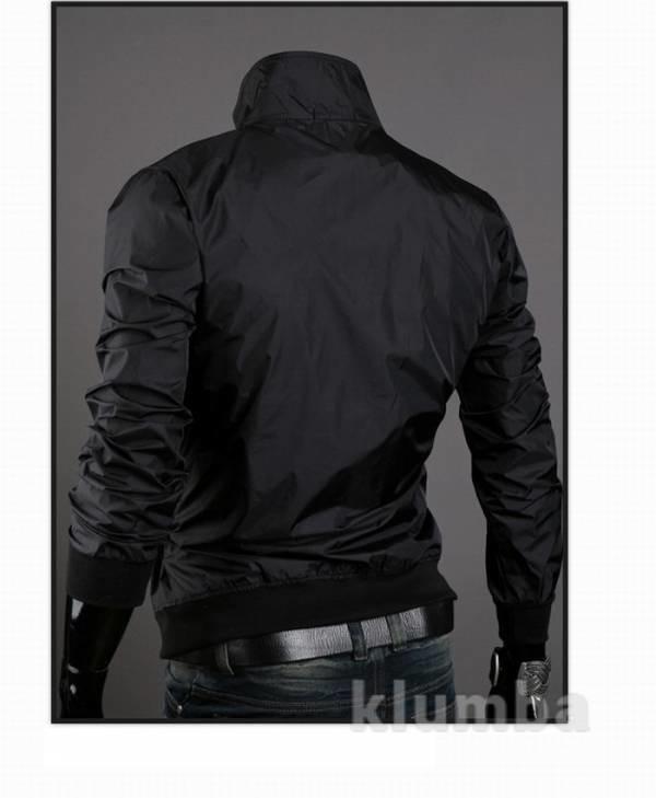 Ветровка мужская black-черная. С, М, Л, хЛ (2з фото №2