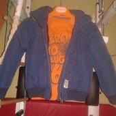 стильная демисезонная теплая курточка