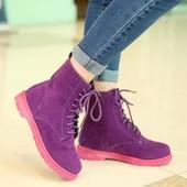 Стильные ботинки под мартина (dr. Martens)