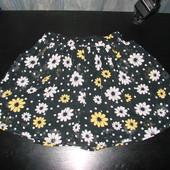 нарядная юбка F&F 8-9 лет  состояние новой