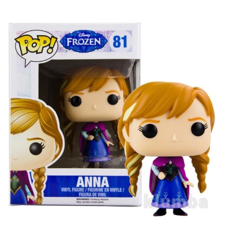 Funko pop disney: frozen anna action figure кукла дисней анна холодное сердце фото №1