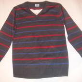 Фирменный реглан свитер пуловер на 6-7 лет