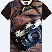 Качественные и очень стильные 3D футболки для мужчин и подростков