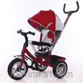 Трёхколёсный велосипед TillyTrike Lux T-361 на резиновых колесах, 7 цветов