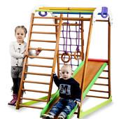 """Спортивный уголок для ребенка,детский спортивный комплекс """"BabyWood"""""""