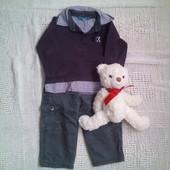 Комплект (Набор рубашка и брючки)  12м 80р