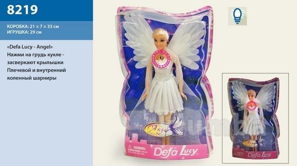 Кукла ангел светящиеся крылья defa, свет, 8219 фото №1