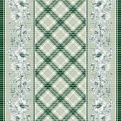 Коврик для кухни и коридора ПВХ Вязаное плетение, ширина 65 см, 135-С