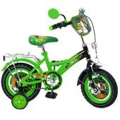 Доставка! Гарантия! велосипед Profi Trike 1232B-1, колёса 12 дюймов, Бен 10